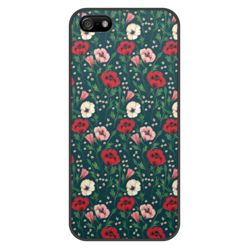 лучшая цена Чехол для iPhone 5/5S, объёмная печать Printio Нотки нежности