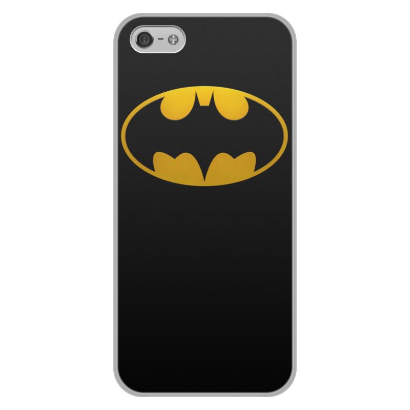 Чехол для iPhone 5/5S, объёмная печать Printio Бетмен цена и фото
