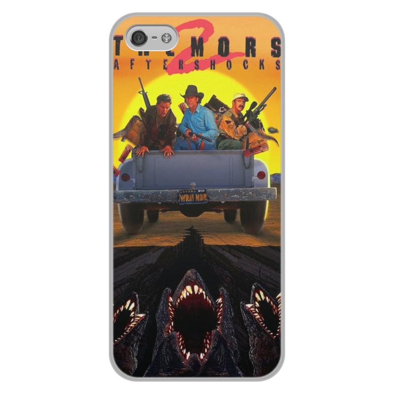 Чехол для iPhone 5/5S, объёмная печать Printio Дрожь земли цена и фото