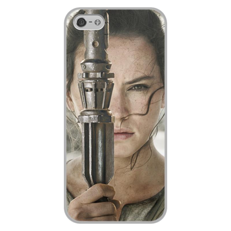 Чехол для iPhone 5/5S, объёмная печать Printio Звездные войны - рей цена и фото