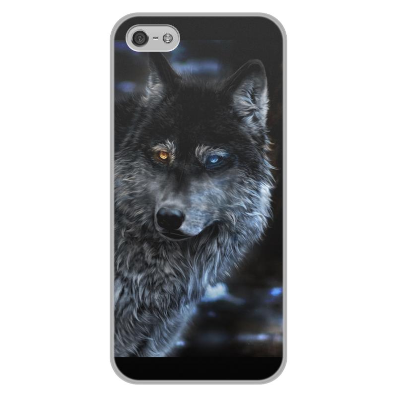 лучшая цена Printio Волки фэнтези. седой волк