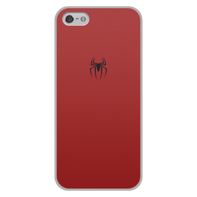 Чехол для iPhone 5/5S, объёмная печать Printio Человек-паук iphone 5s в тольятти в кредит