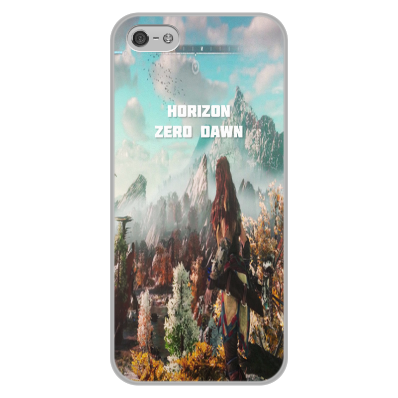 Чехол для iPhone 5/5S, объёмная печать Printio Horizon zero dawn чехол для iphone 5 printio с именем регина