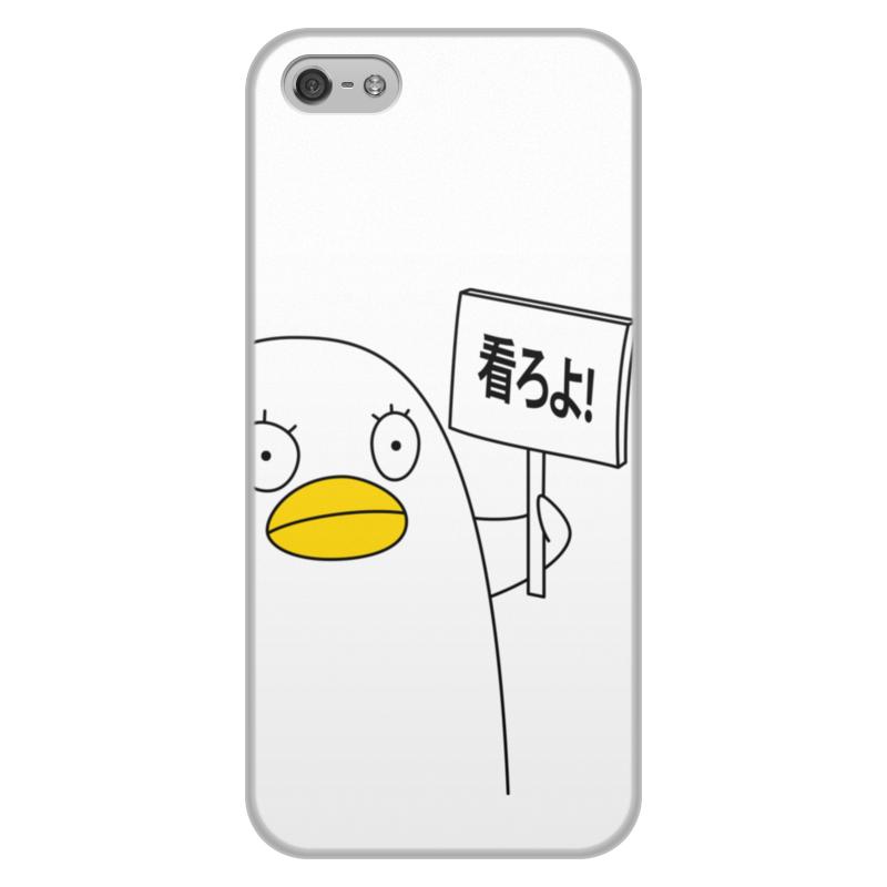 Чехол для iPhone 5/5S, объёмная печать Printio Гинтама. элизабет чехол для iphone 6 plus глянцевый printio гинтама элизабет
