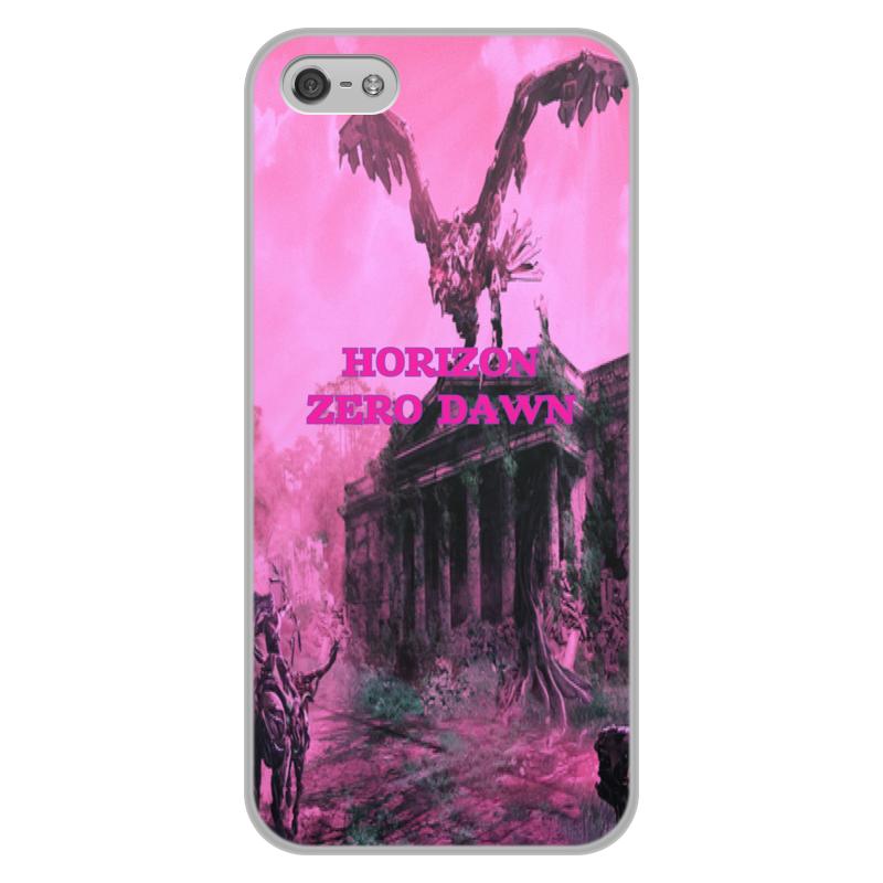 Чехол для iPhone 5/5S, объёмная печать Printio Horizon zero dawn чехол для iphone 5 printio с именем юлия