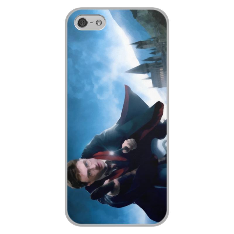 Чехол для iPhone 5/5S, объёмная печать Printio Гарри поттер чехол для iphone 5 глянцевый с полной запечаткой printio девушка на фоне лунного озера