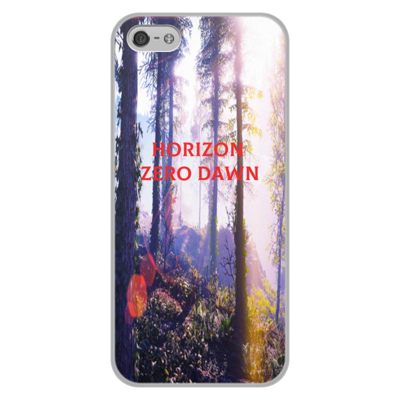 Чехол для iPhone 5/5S, объёмная печать Printio Horizon zero dawn чехол для iphone 5 5s объёмная печать printio horizon zero dawn