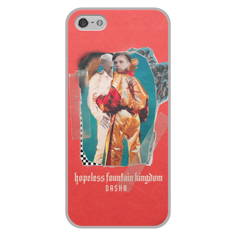 лучшая цена Чехол для iPhone 5/5S, объёмная печать Printio Fredkey и thesanbrant