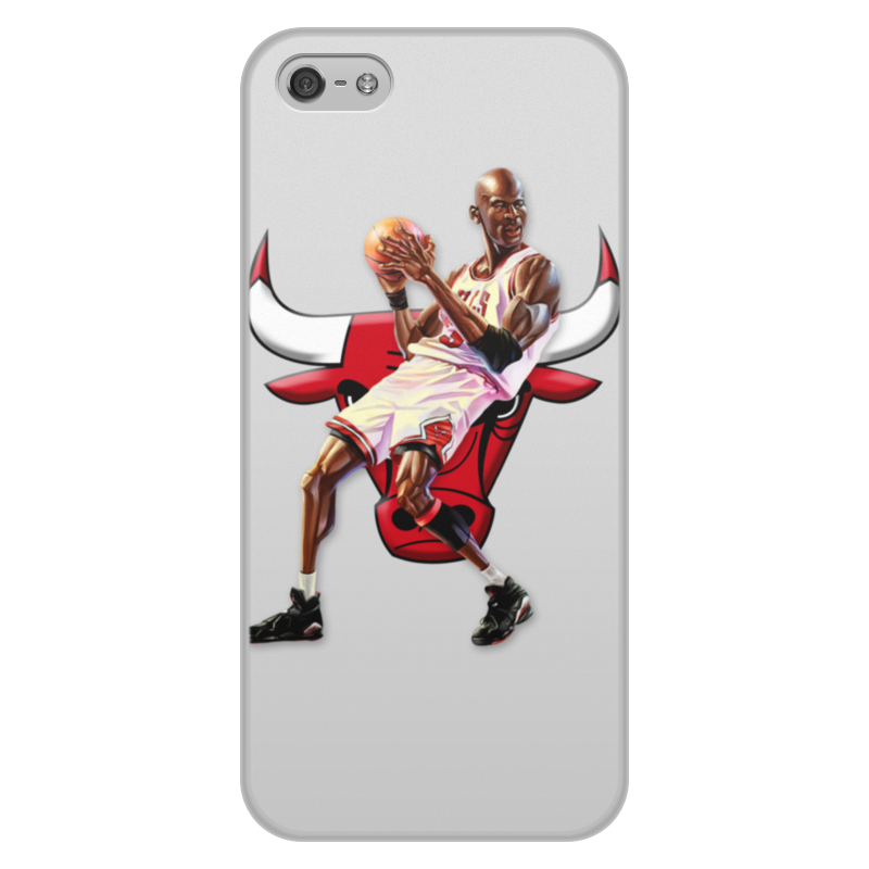 Чехол для iPhone 5/5S, объёмная печать Printio Michael jordan cartooney велосипед bulls nandi street 27 5 2016