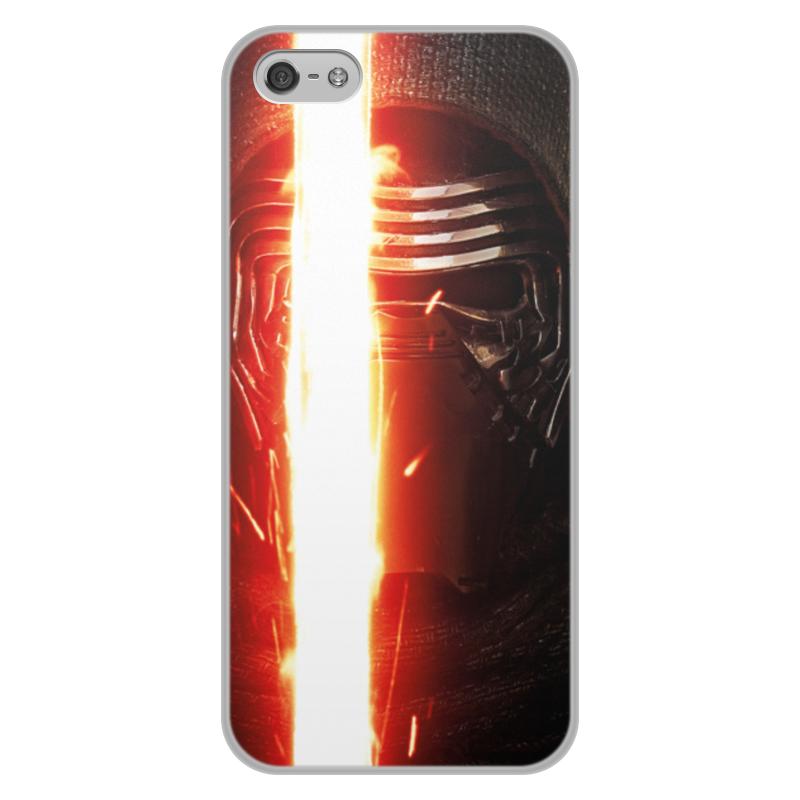 Printio Звездные войны - кайло рен чехол для iphone 5 5s объёмная печать printio звездные войны