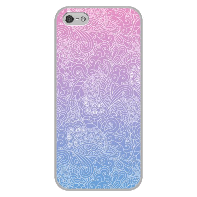 Чехол для iPhone 5/5S, объёмная печать Printio Градиентный узор