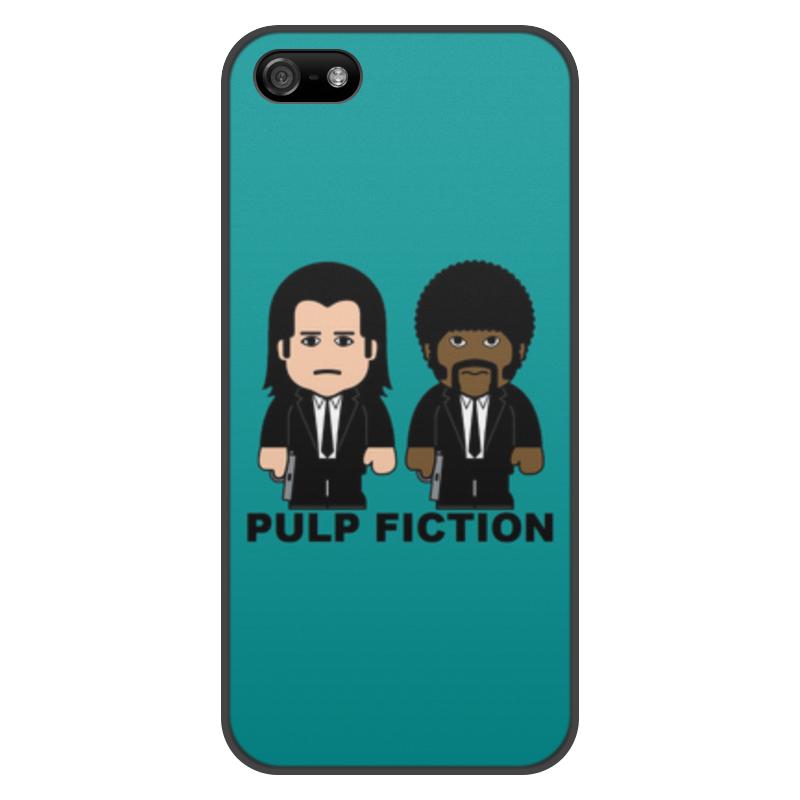 Чехол для iPhone 5/5S, объёмная печать Printio Pulp fiction цена и фото