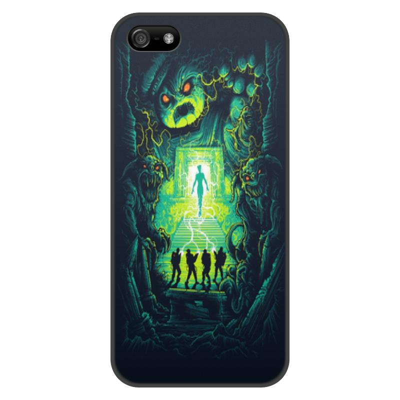 Чехол для iPhone 5/5S, объёмная печать Printio Ghost busters чехол для iphone 5 5s объёмная печать printio орео