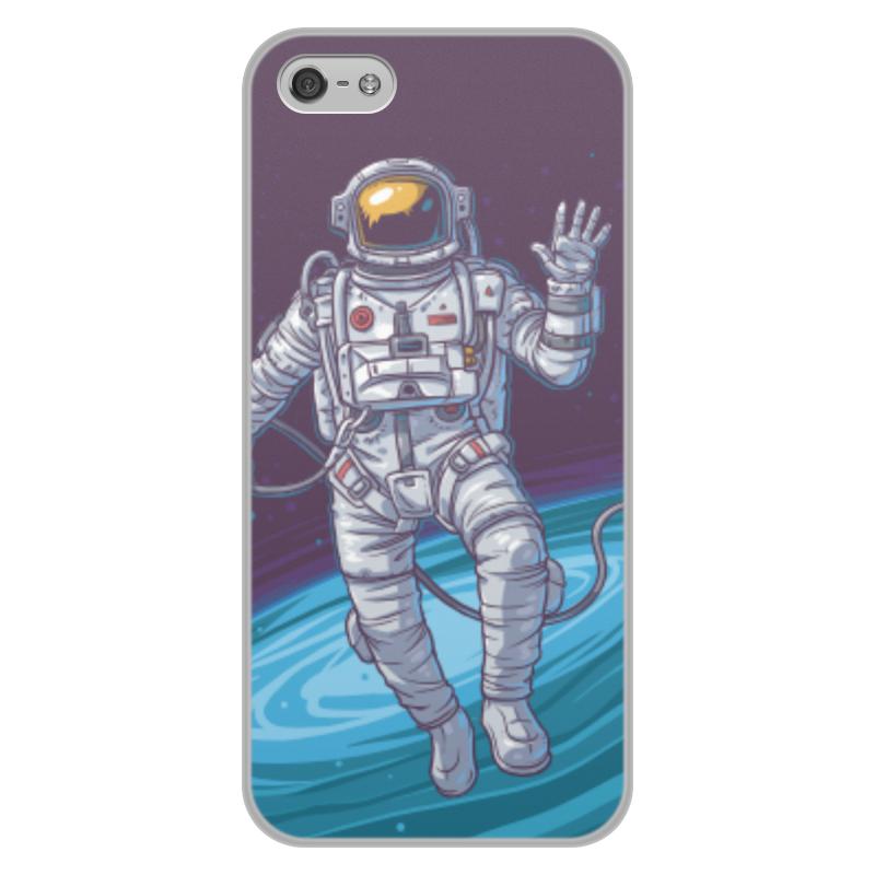 Чехол для iPhone 5/5S, объёмная печать Printio Space чехол для iphone 5 printio my space