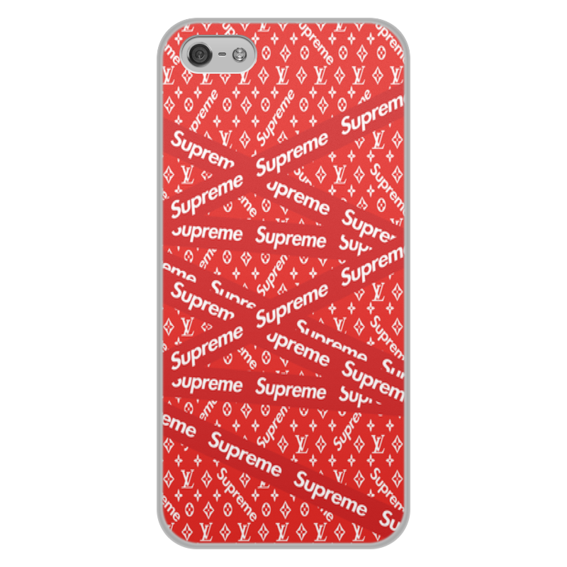 лучшая цена Чехол для iPhone 5/5S, объёмная печать Printio Supreme