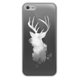 """Чехол для iPhone 5/5S, объёмная печать """"Олень"""" - олень"""