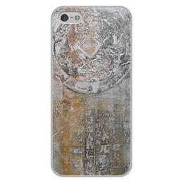 """Чехол для iPhone 5/5S, объёмная печать """"Знаки"""" - арт, картина, фактурный, 14фев"""
