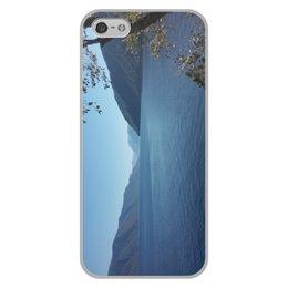 """Чехол для iPhone 5/5S, объёмная печать """"Удивительный Алтай"""" - природа, горы, mountains, горный алтай, телецкое озеро"""