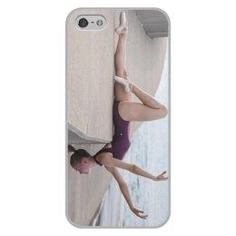 """Чехол для iPhone 5/5S, объёмная печать """"Балерина"""" - девушки"""