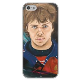 """Чехол для iPhone 5/5S, объёмная печать """"Артемий Панарин"""" - хоккей, нхл, сборная россии по хоккею, артемий панарин"""
