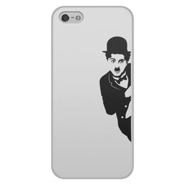"Чехол для iPhone 5/5S, объёмная печать ""Чарльз Чаплин"" - комик, charlie chaplin, charles chaplin, актёр, чарльз чаплин"