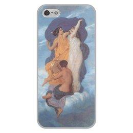 """Чехол для iPhone 5/5S, объёмная печать """"Танец (картина Вильяма Бугро)"""" - картина, академизм, живопись, бугро"""