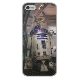 """Чехол для iPhone 5/5S, объёмная печать """"Звездные войны - R2-D2"""" - звездные войны, фантастика, кино, дарт вейдер, star wars"""
