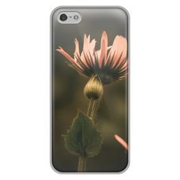 """Чехол для iPhone 5/5S, объёмная печать """"Ботаника"""" - лето, цветы, нежность, летнее настроение"""