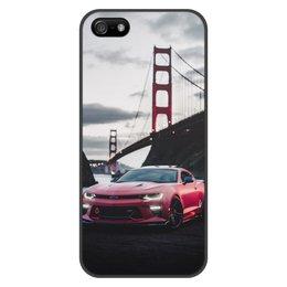 """Чехол для iPhone 5/5S, объёмная печать """"Машина"""" - машина"""
