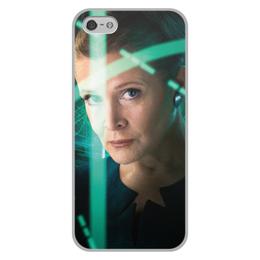 """Чехол для iPhone 5/5S, объёмная печать """"Звездные войны - Лея"""" - кино, фантастика, star wars, звездные войны, дарт вейдер"""