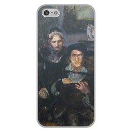 """Чехол для iPhone 5/5S, объёмная печать """"Гамлет и Офелия (картина Михаила Врубеля)"""" - картина, живопись, шекспир, литература, врубель"""