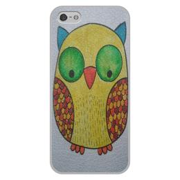 """Чехол для iPhone 5/5S, объёмная печать """"Чехол Совушка"""" - природа, сова"""