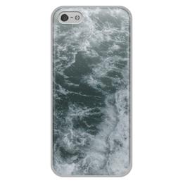 """Чехол для iPhone 5/5S, объёмная печать """"Морские прогулки"""" - лето, море, волны, отпуск, морская прогулка"""