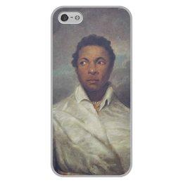 """Чехол для iPhone 5/5S, объёмная печать """"Айра Олдридж в образе Отелло"""" - картина, живопись, шекспир, театр, норткот"""