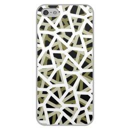 """Чехол для iPhone 5/5S, объёмная печать """"Empty"""" - камуфляж, camo, тактический"""