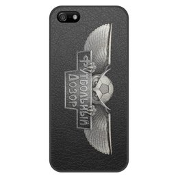 """Чехол для iPhone 5/5S, объёмная печать """"Футбольный Дозор"""" - футбол, iphone, чемпионат, футбольный дозор"""