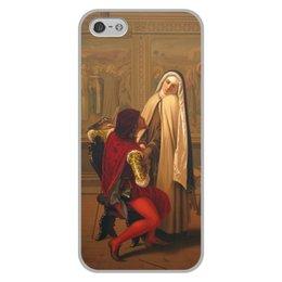 """Чехол для iPhone 5/5S, объёмная печать """"Любовь или долг (Габриель Кастаньола)"""" - любовь, картина, академизм, живопись, кастаньола"""