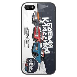 """Чехол для iPhone 5/5S, объёмная печать """"Боевая классика"""" - жигули, дрифт, бк, боевая классика"""