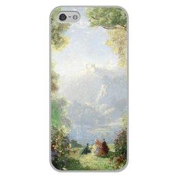 "Чехол для iPhone 5/5S, объёмная печать ""Дворец грёз (Томас Эдвин Мостин)"" - картина, живопись, мостин, романтизм"