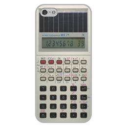 """Чехол для iPhone 5/5S, объёмная печать """"Электроника"""" - calculator"""