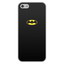 """Чехол для iPhone 5/5S, объёмная печать """"Бэтмен / Batman"""" - комиксы, batman, джокер, символ"""