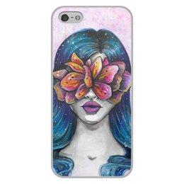 """Чехол для iPhone 5/5S, объёмная печать """"Весна"""" - праздник, девушка, цветы, 8 марта, весна"""
