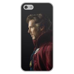 """Чехол для iPhone 5/5S, объёмная печать """"Доктор Стрэндж"""" - marvel, мстители, марвел, доктор стрэндж, doctor strange"""