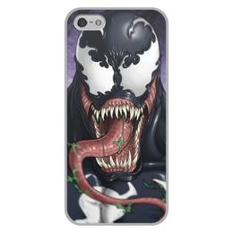 """Чехол для iPhone 5/5S, объёмная печать """"Веном (Venom)"""" - comics, комиксы, venom, марвел, веном"""