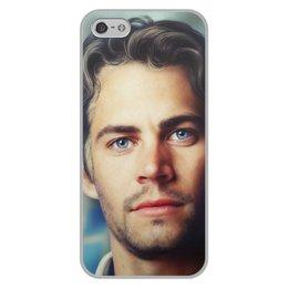 """Чехол для iPhone 5/5S, объёмная печать """"Пол Уокер Paul Walker"""" - форсаж, актер, пол уокер, paul walker, брайн оконнер"""