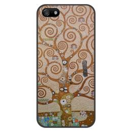 """Чехол для iPhone 5/5S, объёмная печать """"Древо жизни (Густав Климт)"""" - картина, живопись, климт"""
