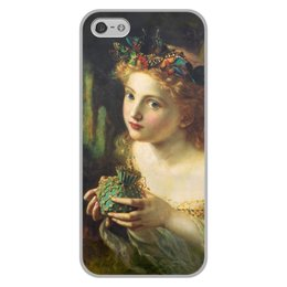 "Чехол для iPhone 5/5S, объёмная печать ""Take the Fair Face of Woman"" - картина, фэнтези, софи андерсон"