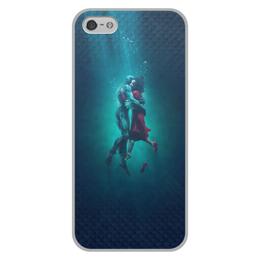"""Чехол для iPhone 5/5S, объёмная печать """"Форма воды"""" - форма воды, кино, оскар, любовь, фэнтези"""