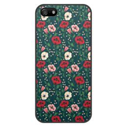 """Чехол для iPhone 5/5S, объёмная печать """"Нотки нежности"""" - нежность"""