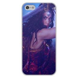 """Чехол для iPhone 5/5S, объёмная печать """"Чудо Женщина. """" - игры, комиксы, кино, чехол, акссесуар"""